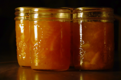 3 jars of 3-fruit marmalade