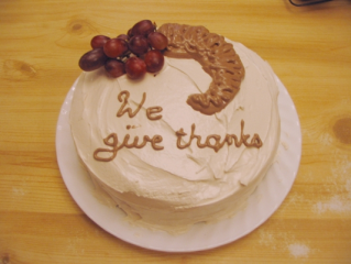 Thanksgiving Cake