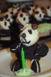 the birthday panda