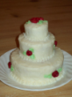 A doll wedding cake