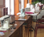 sewing setup